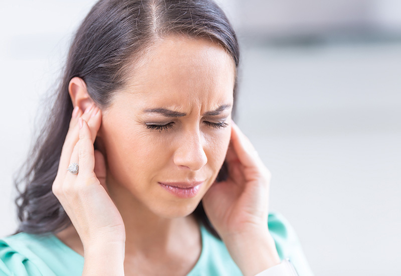 Have an inner ear infection?